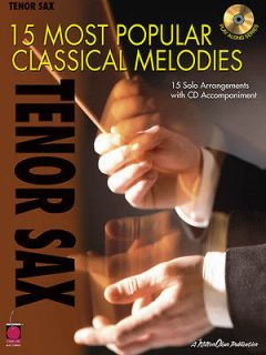 15 Most Popular Classical Melodies Tenor Sax Sheet Music Play Along