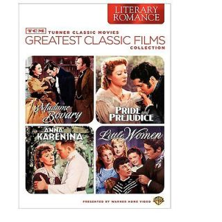 NEW 4 DVD set Little Women 1949, Anna Karenina, Madame Bovary, Pride
