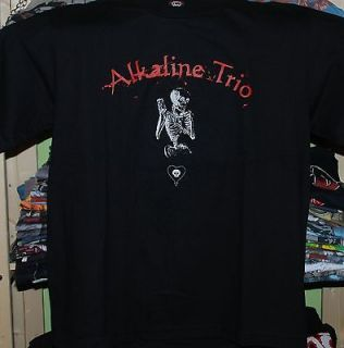 Alkaline Trio Large black T Shirt New rare The Lawrence Arms heavens