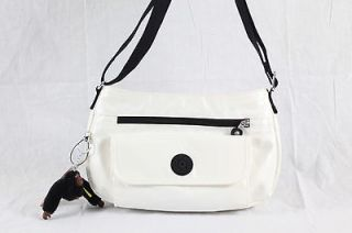 Kipling Syro Cross Body Shoulder Bag HB6139 Limited Edition White