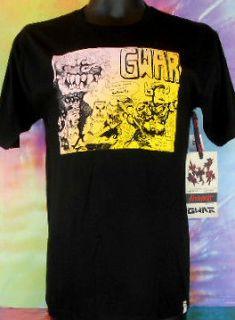 Gwar Altamont Mens Blacks T Shirt Size Med