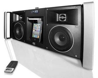 ALTEC LANSING PORTABLE BOOMBOX IPOD IPHONE 4 SPEAKER DOCK DIGITAL FM