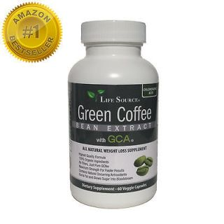Natural Green Coffee Bean Extract 100% Organic, Pure and Natural