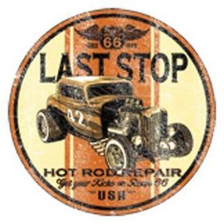 STOP HOT ROD REPAIR T SHIRT BIKER USA MUSCLE CAR BIKER RT AMERICAN