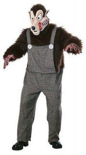 Adult Std. Scary Big Bad Wolf Costume   Adult Costume (1625)