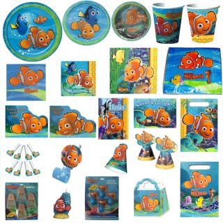 Vintage FINDING NEMO Birthday Party Supplies ~ Create your SET ~ pick