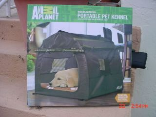 Animal Planet Portable PET KENNEL Indoor/Outdoor   NIB  YOUR BABY WILL