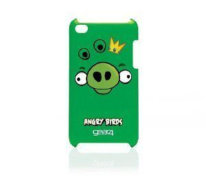 Gear4 Angry Birds Case for iPod Touch 4th Generation Pig King Cover