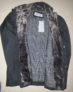 EW MENS MARC NEW YORK ANDREW MARC BRADY FAUX COLLAR COAT JACKET DIFF