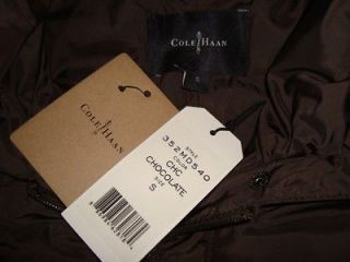 NWT COLE HAAN Style 350MD540 Pillow Collar Puffer Down Full Length