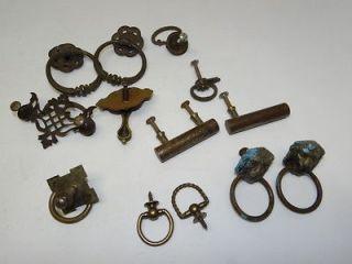 antique lion drawer pulls