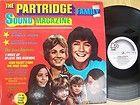 THE PARTRIDGE FAMILY/DAVID CASSIDY SOUND MAGAZINE RARE ORIGINAL GERMAN
