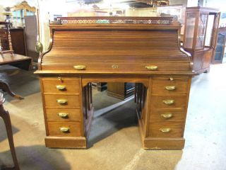 antique roll top desk in Desks & Secretaries