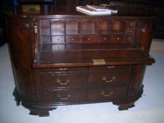 writing desk antique mahogany