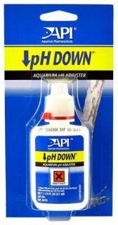 API pH Down ~ Freshwater aquarium fish tank water treament, Lowers and