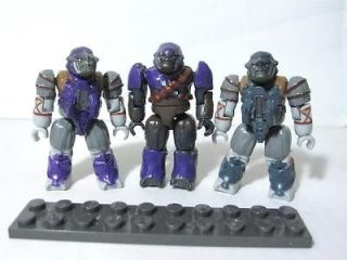 Newly listed H36 MEGA BLOKS HALO MINI FIGURE COVENANT PURPLE BLUE GREY