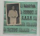 JOHNNY CASH MAN BLACK RARE FRANKLIN MINT BOX SET