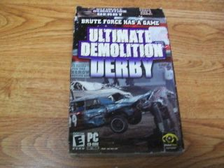 Ultimate Demolition Derby in Box (PC Games)