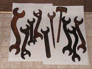 antique farm implements