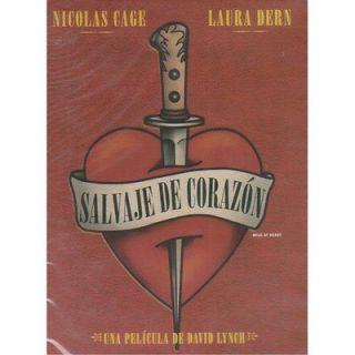 Wild At Heart / Salvaje De Corazon DVD NEW Nicolas Cage Laura Dern