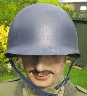 US ARMY WW II STYLE STEEL HELMET NATO