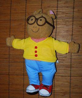 PBS Kids ARTHUR Plush TALKING Toy Doll Playskool 16