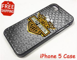 DAVIDSON Motorcycles Logo iPhone 5 Case Apple Phone Cover Plastic Skin
