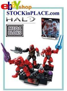 Mega Bloks Halo Reach Figure Master Cheif Spartan Grunts Arbiter M57