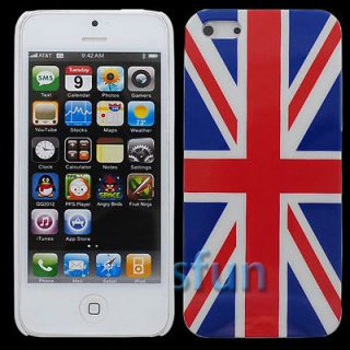 Britain Union Jack Flag Hard Cover Case Skin For Apple iPhone 5 5G