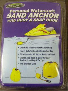 by Kwik Tek PWC Kayak Canoe Sand Anchor w Buoy & Snap Hook A 1 HANDY
