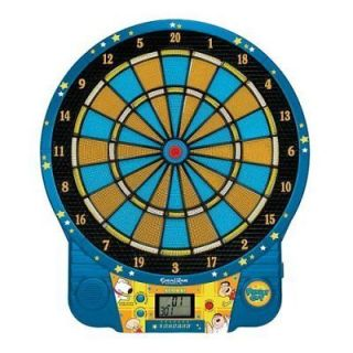 Family Guy Talking Electronic Dartboard Peter Griffin Stewie Brian