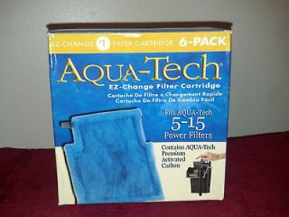 Newly listed AQUA TECH 5  15 POWER FILTERS EZ  CHANGE FILTER CARTRIDGE