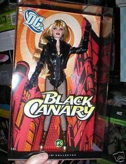 BARBIE SUPER HERO BLACK CANARY MINT IN BOX