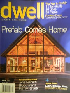 Dwell Magazine January 2013   Prefab Comes Home Sect C