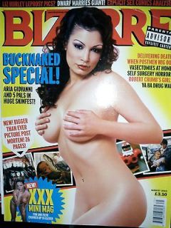 Magazine 75 August 2003   *ARIA GIOVANNI, CATHY BARRY & HENRY ROLLINS