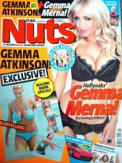 AUGUST 2009 GEMMA MERNA GEMMA ATKINSON CASEY BATCHELOR MALENE ESPENSEN