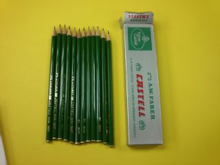 9000 German High Quality Pencils Pack of 12 6H 6B FREE DELIVERY
