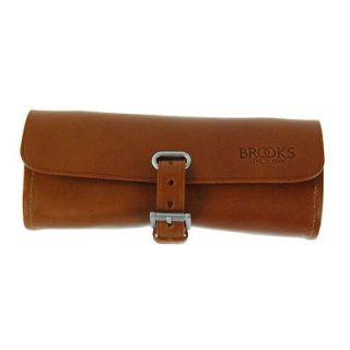 Brooks Challenge Tool Leather Saddle Bag Honey Leather