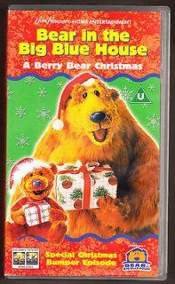 in the big blue house a berry bear christmas vhs pal uk video - Bear Inthe Big Blue House A Berry Bear Christmas