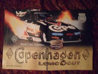 2000 Print Ad Copenhagen Smokeless Tobacco ~ Fresh Cope Satisfies