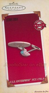 Star Trek 2005 ENTERPRISE NCC 1701A Ornament ~ Hallmark