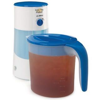 TM70 3 Quart Iced Tea Maker Dishwasher Safe Use Loose Tea or Bags YUM