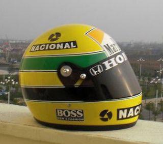 1989 Ayrton Senna Honda F1 Helmet Replica 11