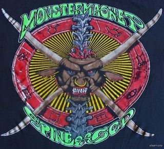 MONSTER MAGNET Vintage Concert SHIRT 90s TOUR T RARE ORIGINAL 1992