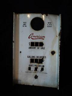 vintage gas pump parts
