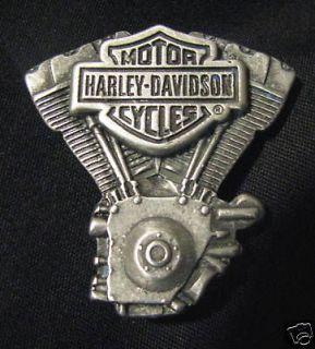 HARLEY DAVIDSO N BAR & SHIELD TWIN CAM ENGINE MOTOR PIN