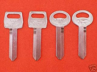Newly listed 4 FORD OEM KEY BLANKS 67 92 (Fits More than one vehicle)