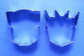 Transformer special biscuit baking cookie cutter set