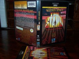 Stephen Kings THE STAND dvd Double Sided Disc R1 OOP