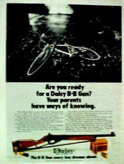 Daisy B B Gun Western Air Rifle Marksman ~1973~ Toy AD